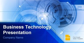 Business Technology Presentation Free Google Slides