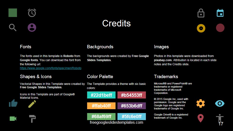credits template - Ideal.vistalist.co