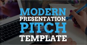 modern presentation pitch template - free google slides templates, Presentation templates