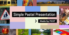 Google Slides Template Pastel Presentation