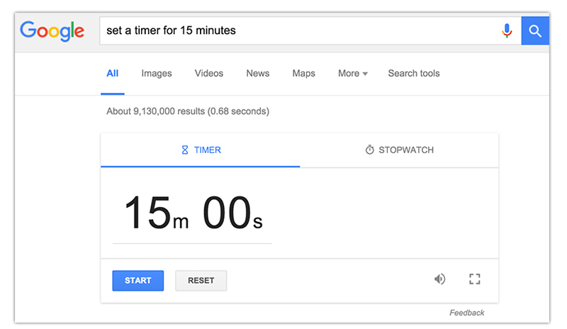 set-a-timer-15-minutes-google-slides