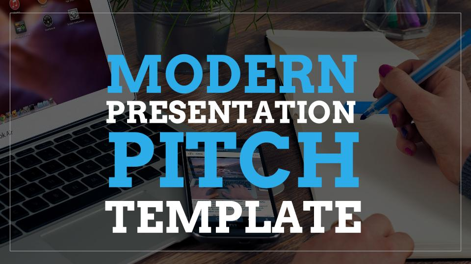 modern presentation pitch template free google slides templates